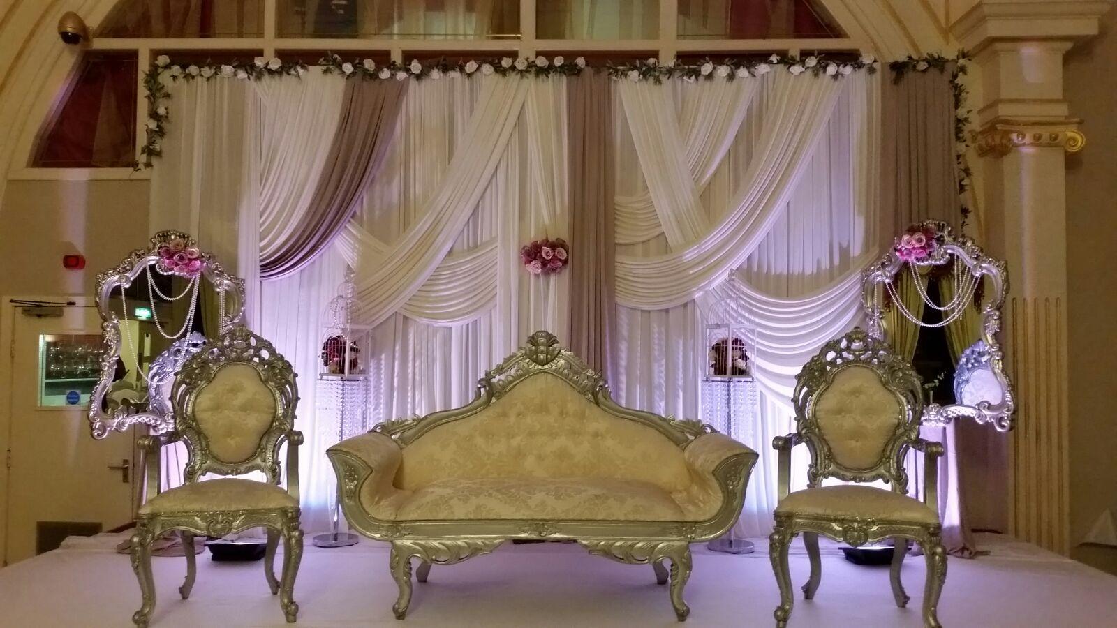 Asian Wedding Stage Leeds