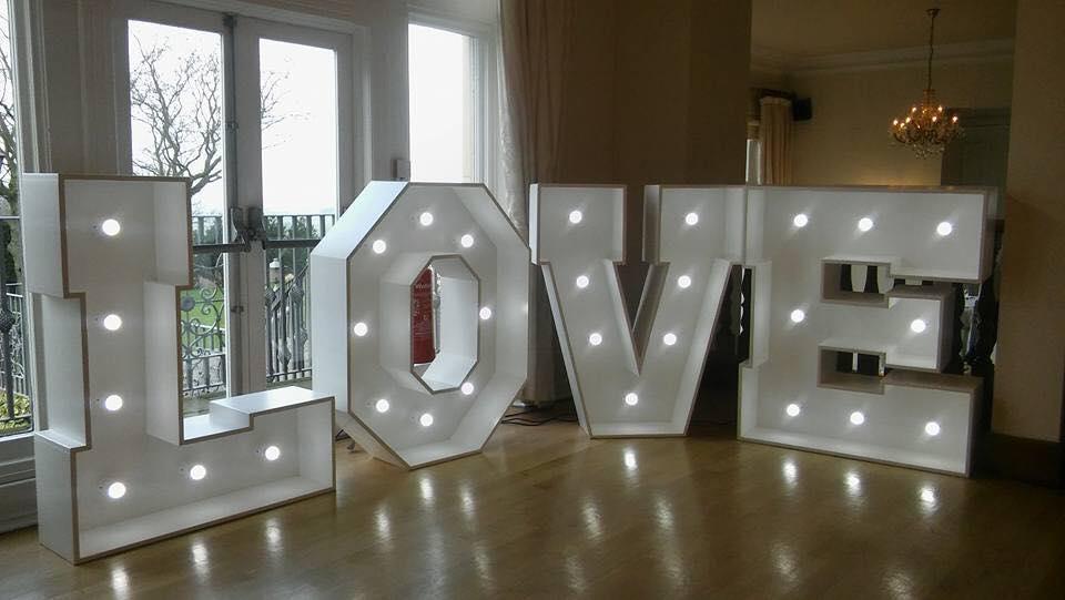 Love LED letter