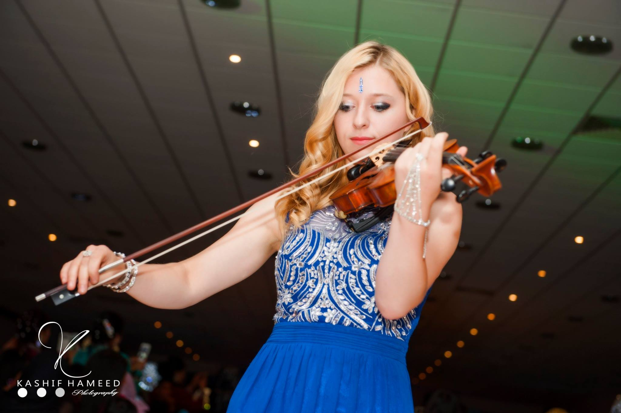 Amy fields Bollywood Violinist Mcr