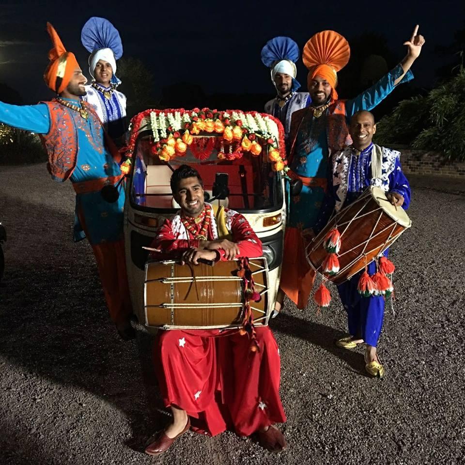 Dhol Bhangra Dancers Manchester