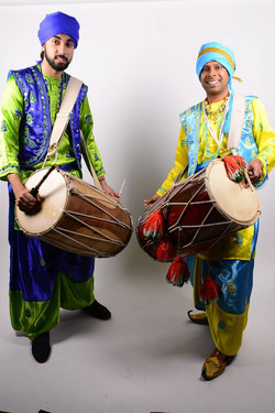 Dhol player Bolton Excellency