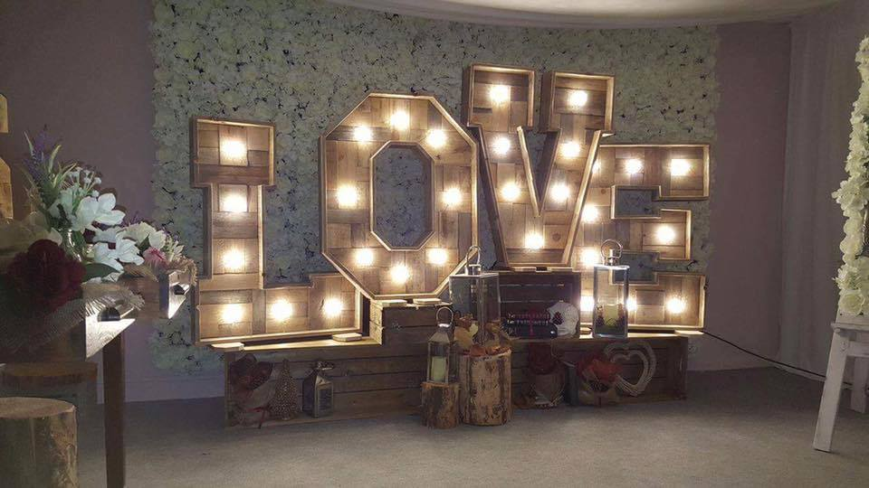LED Love Letters Manchester