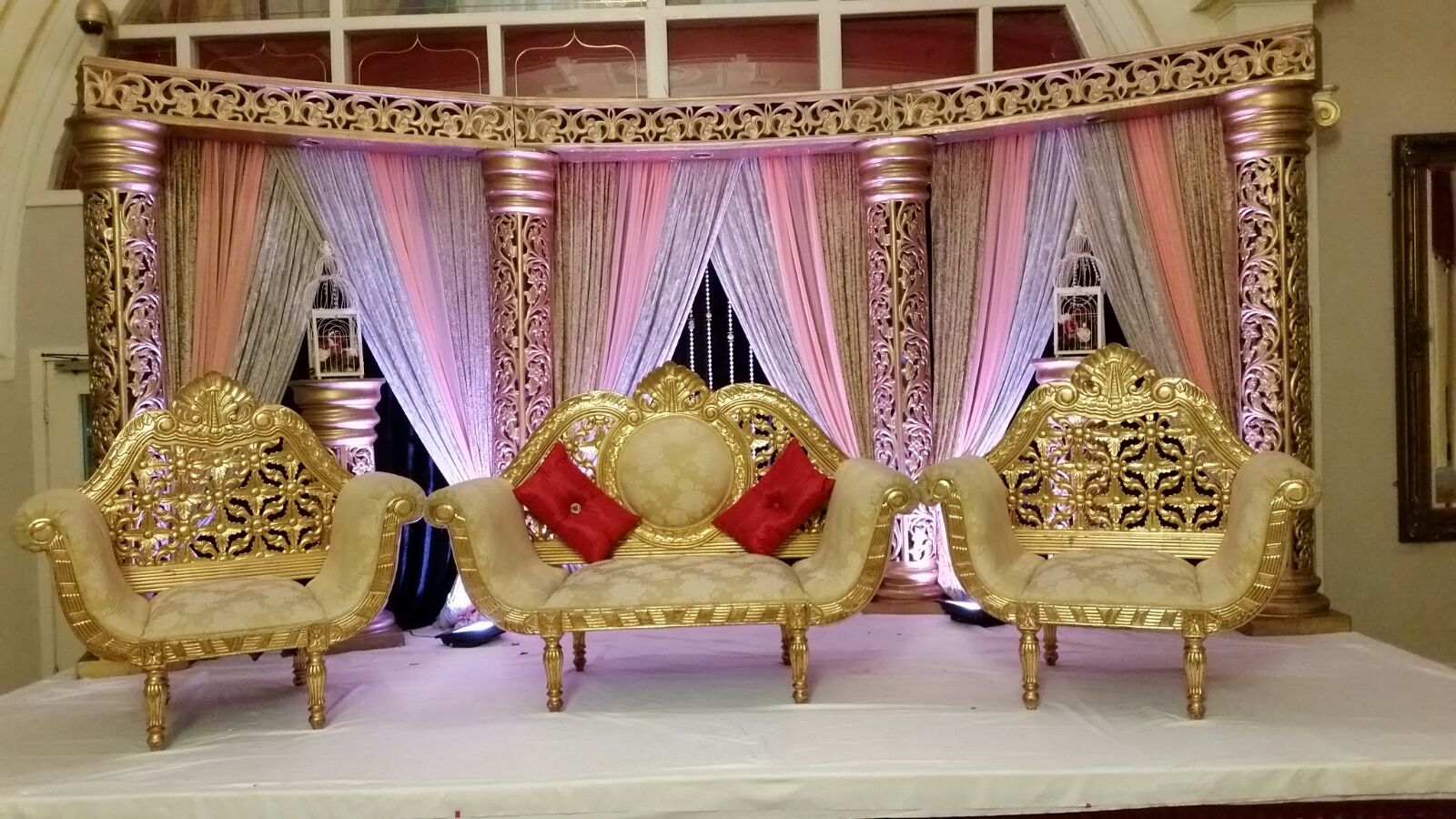 Asian Wedding Stage Warrington