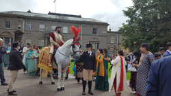 Dhol and Horse Manchester