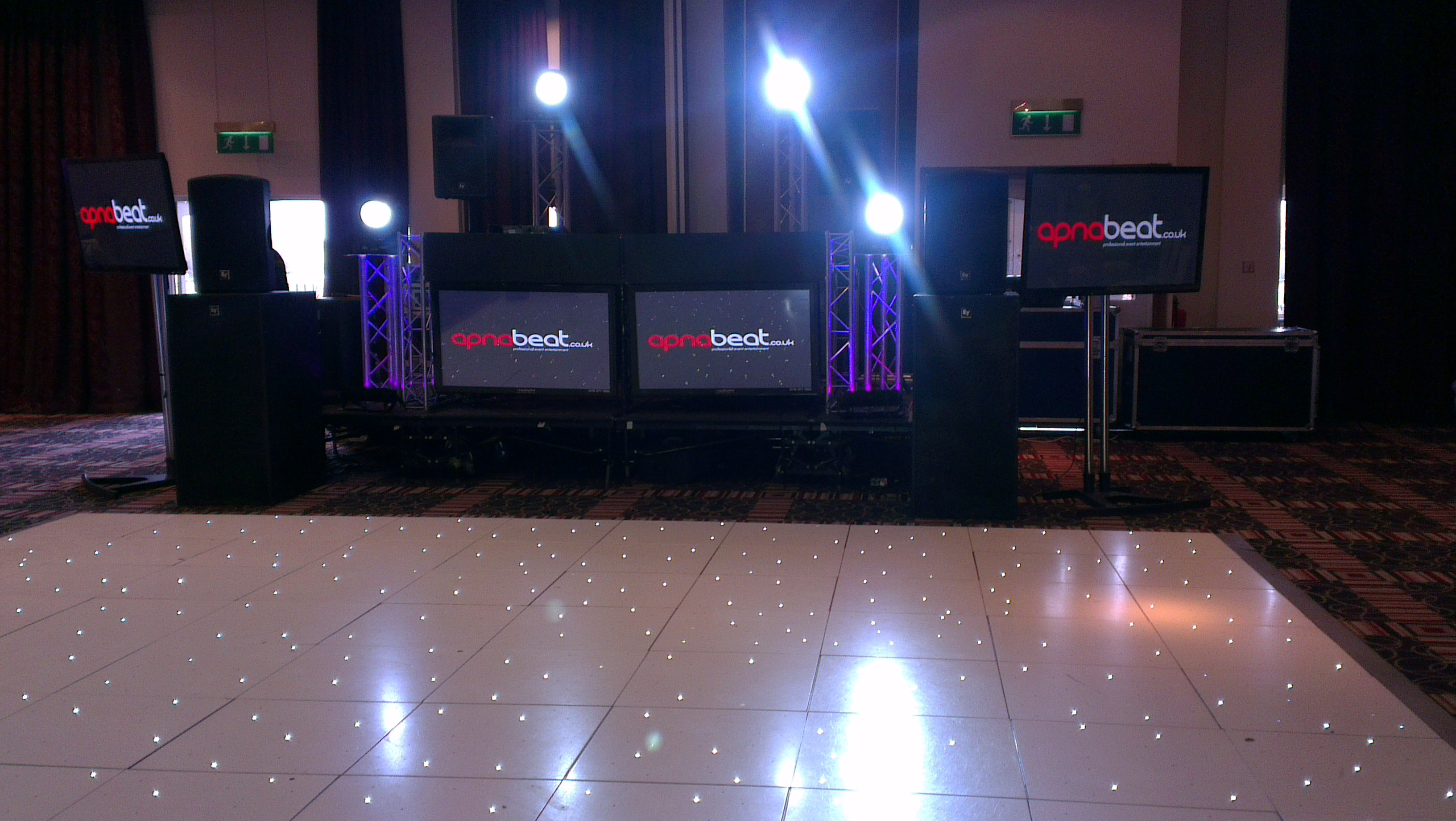 LED Dancefloor hire manchester