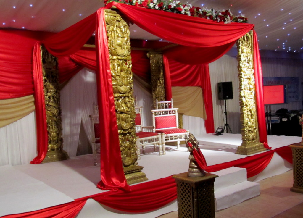 Mandap Hire HIndu Wedding Manchester
