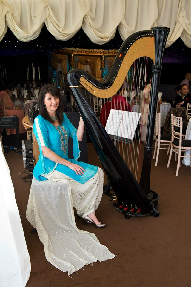 Asian Harpist Manchester