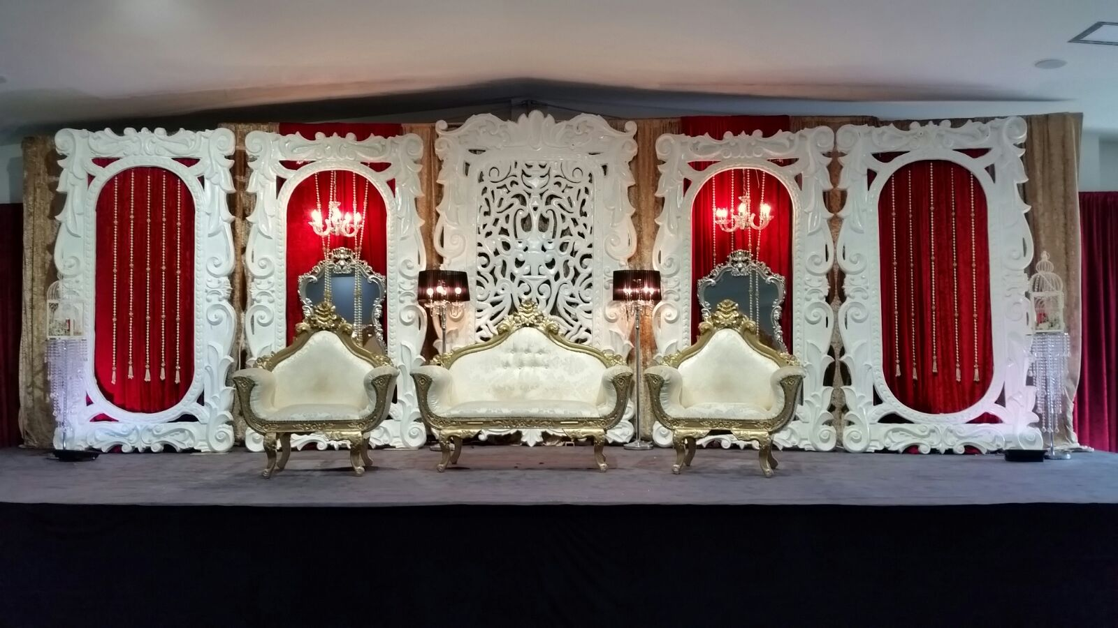 Asian Wedding Stage Cheshire