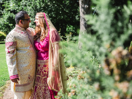 Louisa and Naveen's Indian English Wedding @ Inglewood Manor