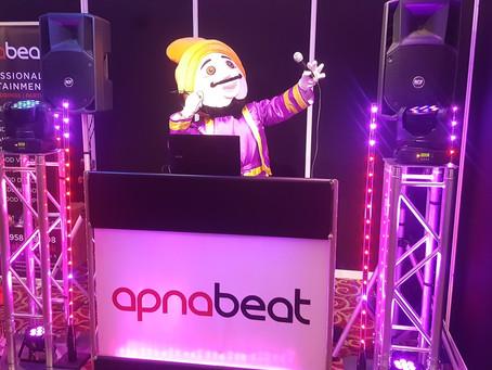 Apnabeat DJ Charity 10k run for Mencap