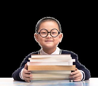 Nen investigant en llibres