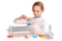 Nena provant laboratori