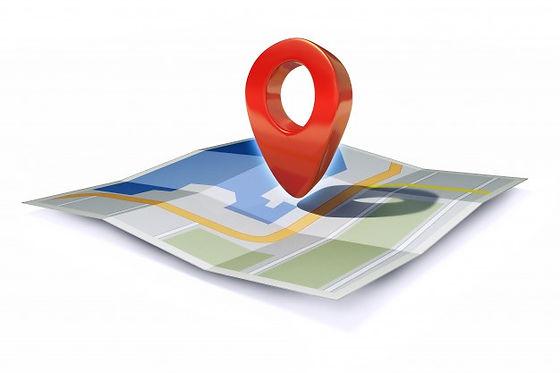 locatiepictogram-of-pin-aanwijzer-op-kaa