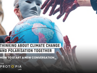 New publication: Thinking about climate change and polarisation together