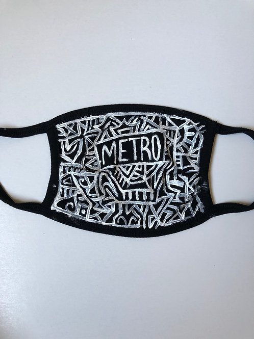 Handpainted Facemask