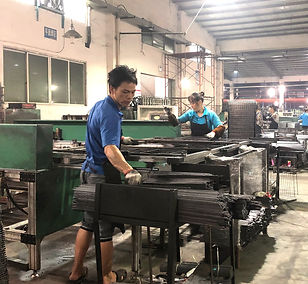 Metal Shelf Production Line