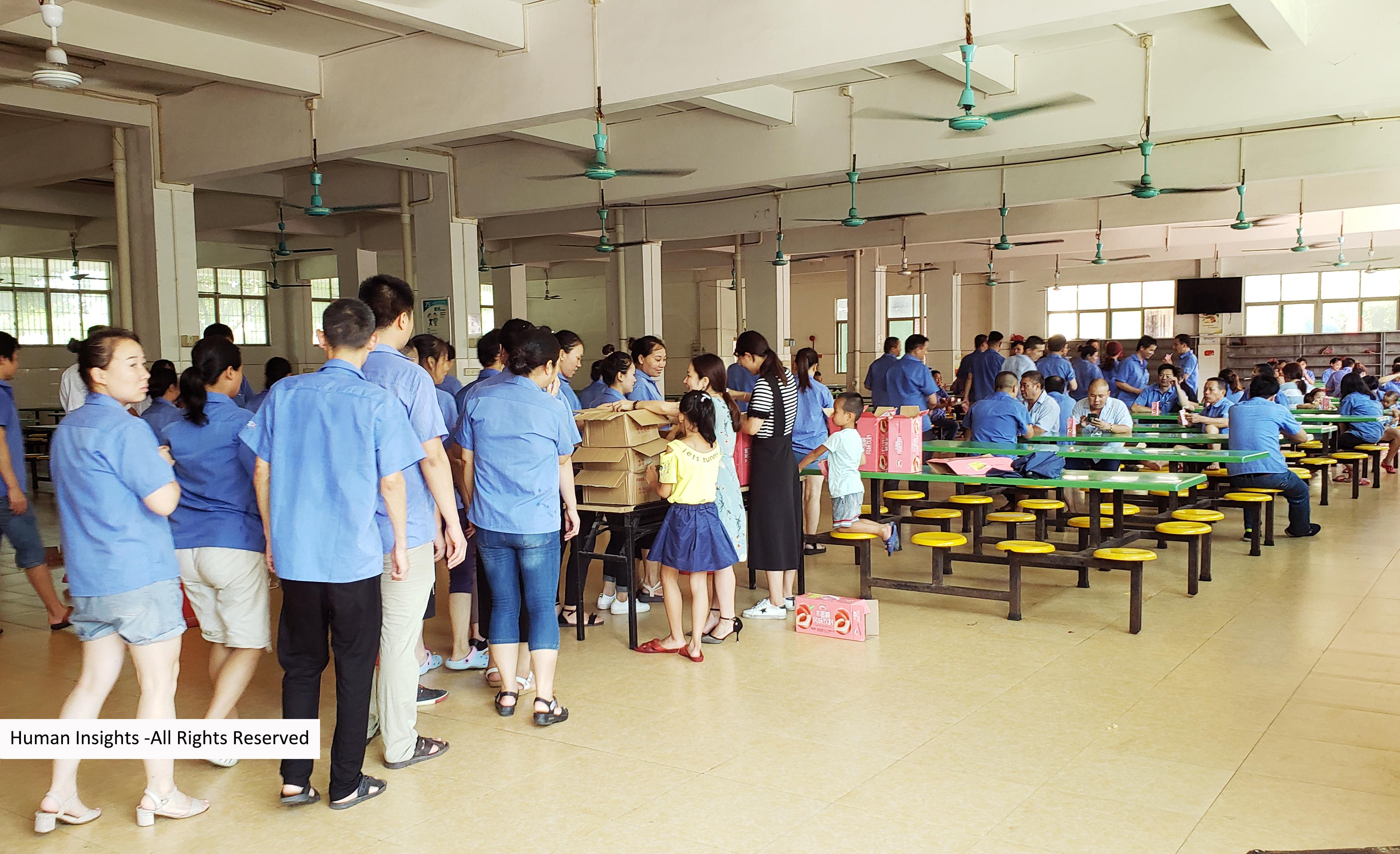 WXD Factory Visit -Tea Break 02