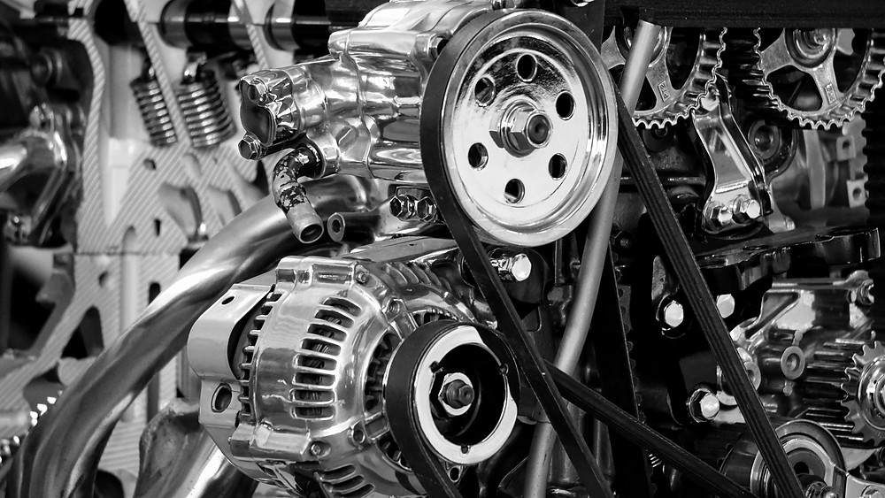 A vehicle's engine