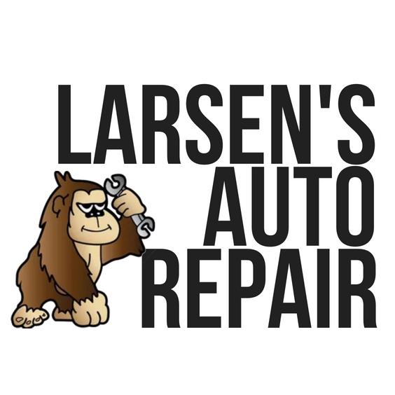 Larsen's Auto Repair Logo (Monkey)