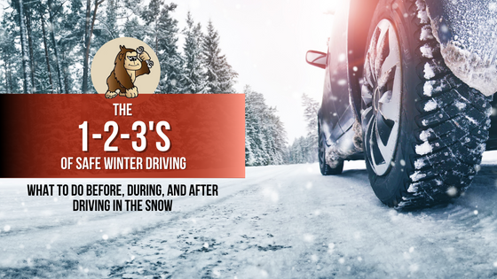 The 1-2-3's of Safe Winter Driving