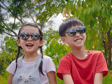 What are the best sunglass options for your child who wears a spectacle?