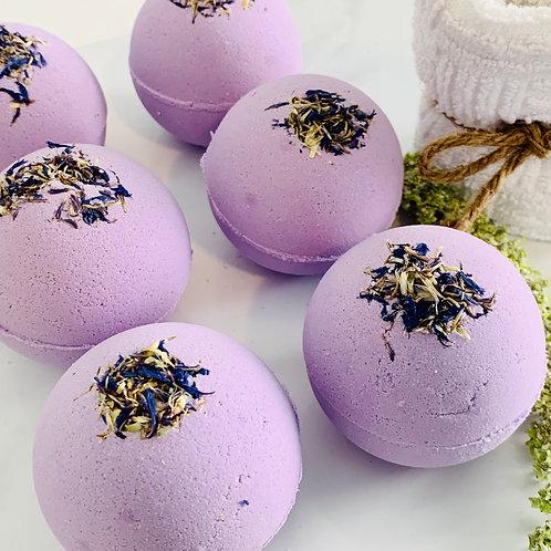Lavender and Honey Bath Bomb