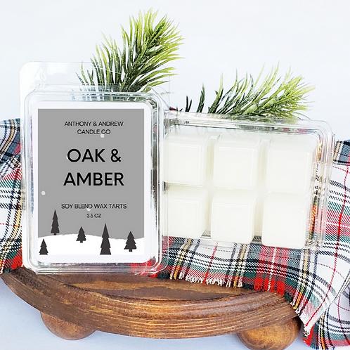 Oak & Amber Wax Melts