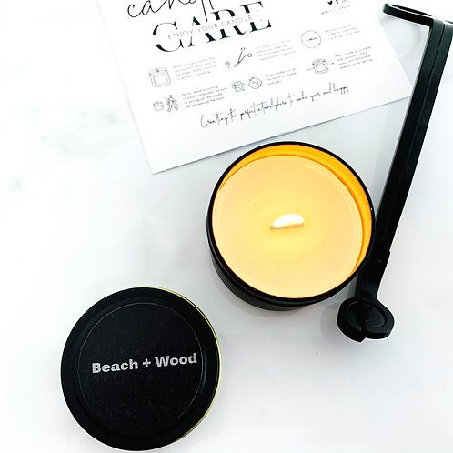 Beach + Wood Travel Candle Tin