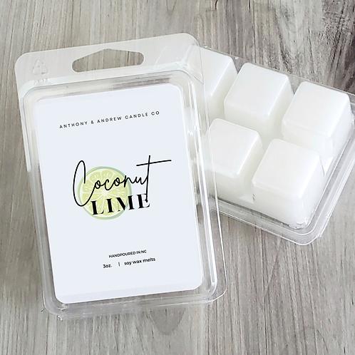 Coconut Lime Verbana Wax Melts (W)