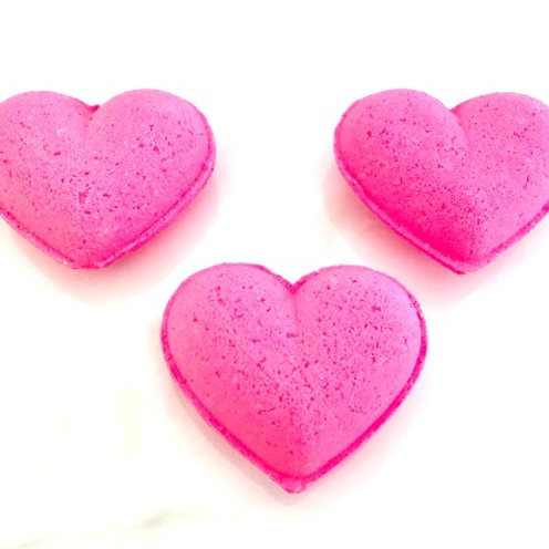 Sweet Hearts Bath Bomb Set
