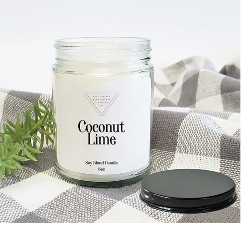 Coconut Lime Candle (W)