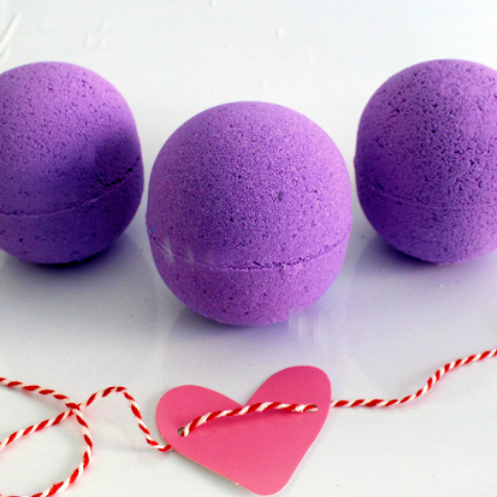 Lavender and Honey Bath Bomb