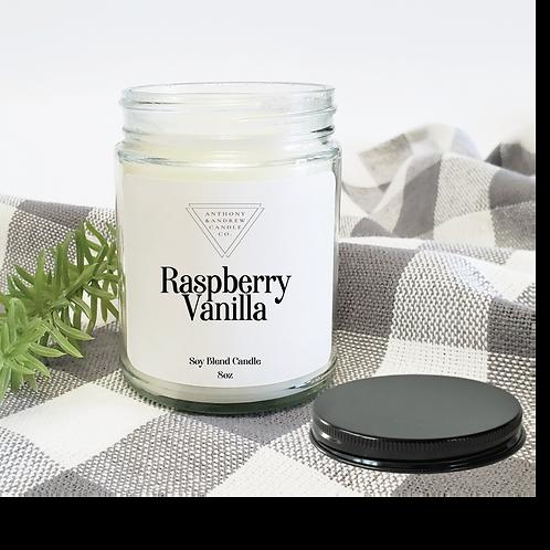 Raspberry Vanilla Candle (W)