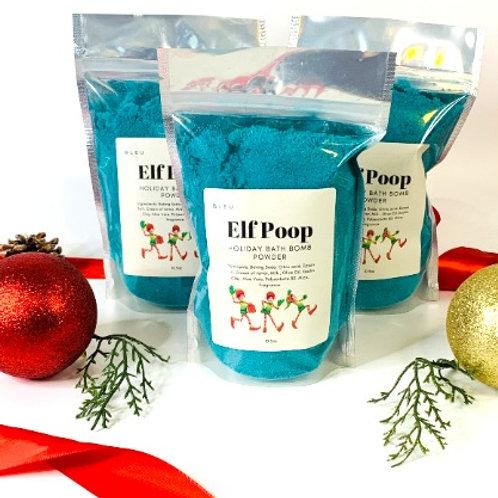 Elf Poop Fizzy Bath Bomb Powder