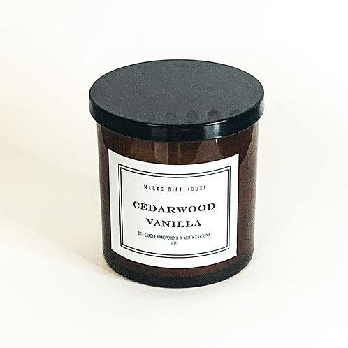 Cedar Vanilla Candle