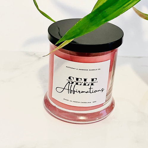 Self Affirmations (self care candle)