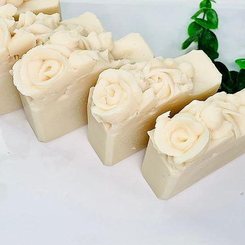 Vegan Unscented Rose Soap