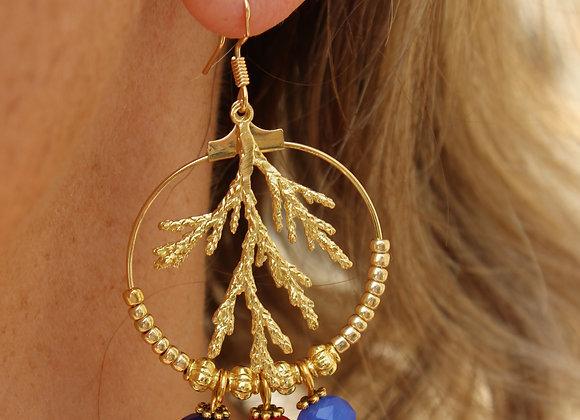 boucles d'oreilles Indi