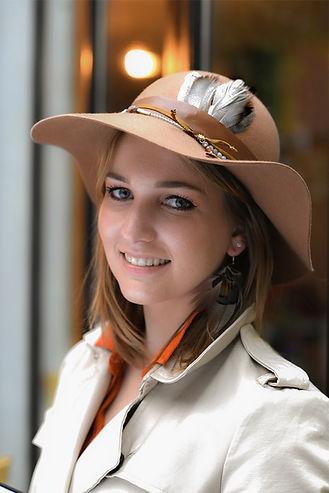 capeline chapeau plume mariage accessoire de tête mode accessoire bohème