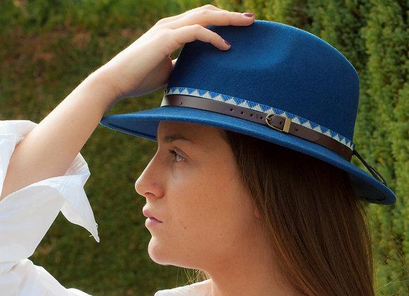 fedora bleu