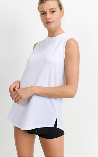 Sleeveless Active Wear Flow Tank Top