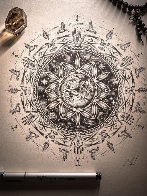 Earth Prayer - Print
