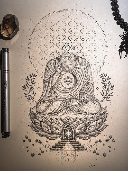 Lotus Throne - Print