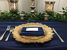 Dream Day Decor Chargers and Glassware