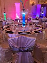 Dream Day Decor Uplighting and Textured Lighting