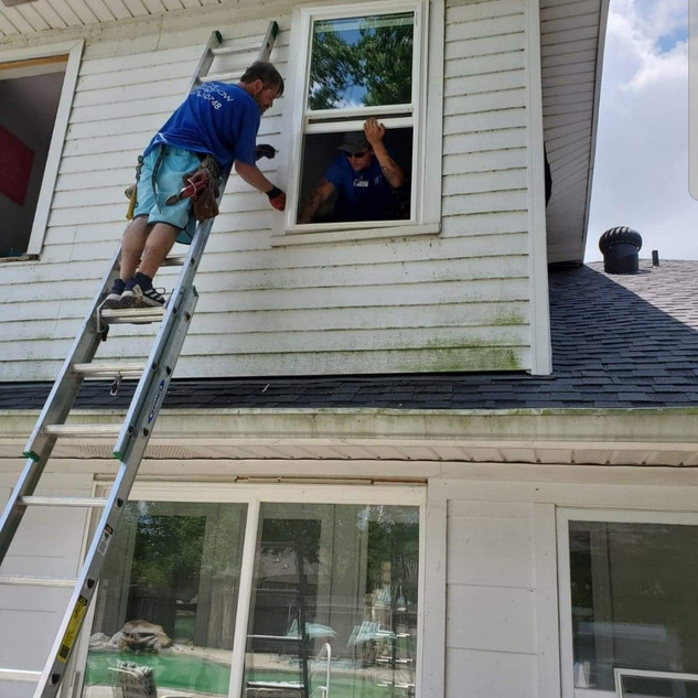 Replacing vinyl windows