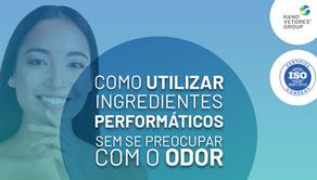 Como utilizar ingredientes performáticos sem se preocupar com o odor