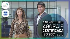 Conquistas Nanovetores 2020/2021 e Certificação de Conformidade ISO 9001