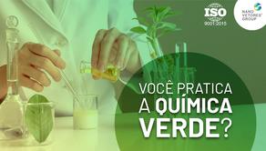 Você pratica a química verde?