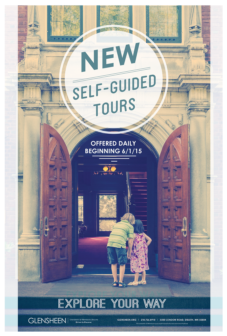 Self-Guided Tour Poster Design